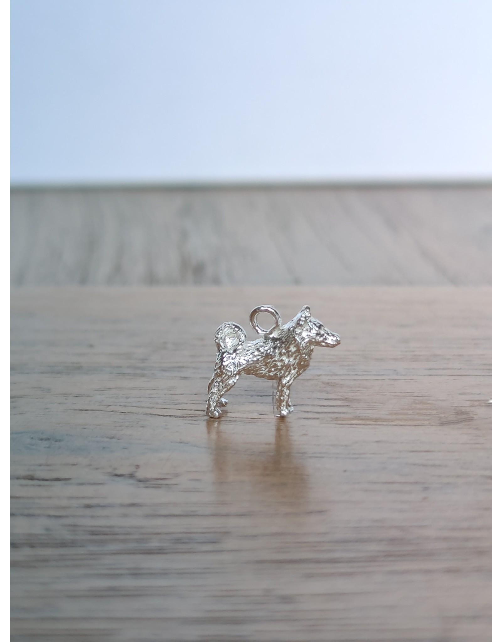 Handmade by Hanneke Weigel Sterling silver Schipperke