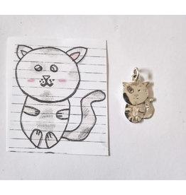 Handmade by Hanneke Weigel Sieraad van een (kinder)tekening