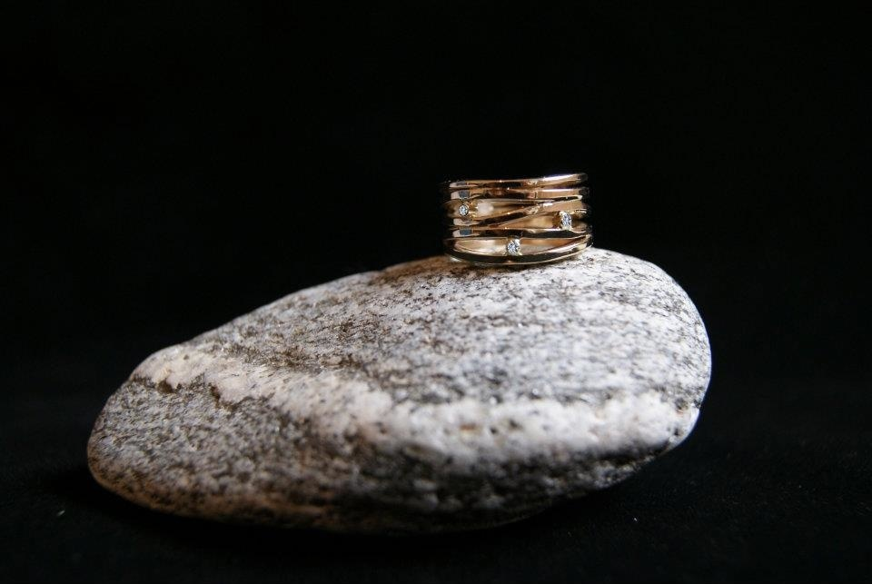 Jewelry made from old gold