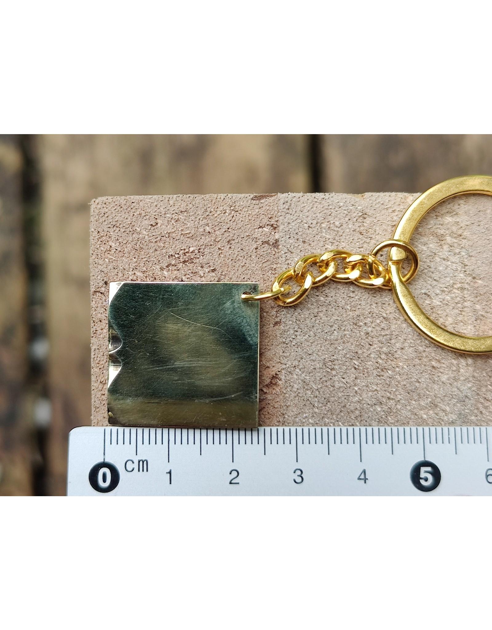 Vintage finds Sleutelhanger vintage finds printers ornament