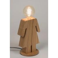 thumb-Tafellamp houten vrouwtje Eve in twee maten-2