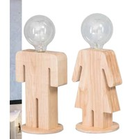 thumb-Tafellamp houten vrouwtje Eve in twee maten-4