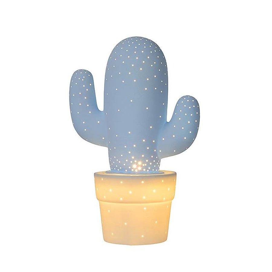 Tafellamp Cactus porselein in diverse kleuren-9