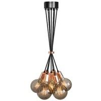 thumb-No.3 Hanglamp bundel 7-lichts koper of goud-1