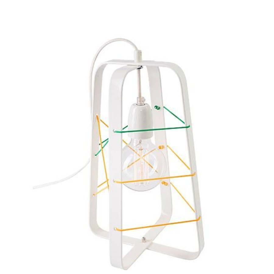 tafellamp lichtkooi medium wit no. 31-1