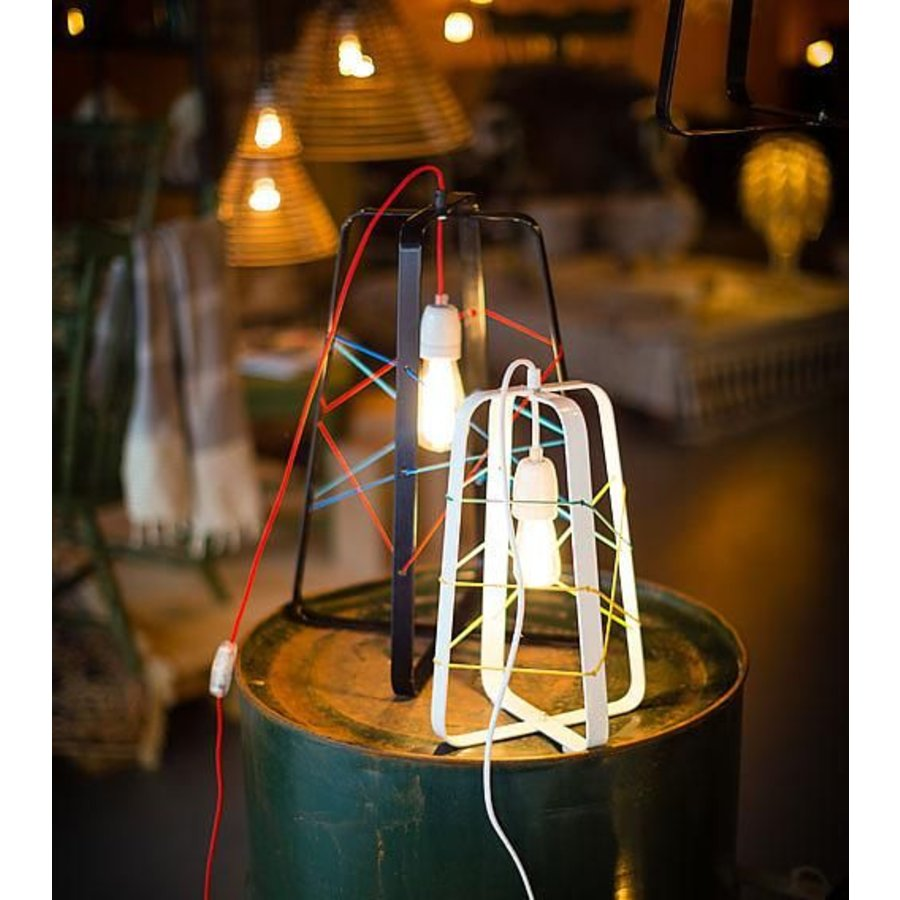 tafellamp lichtkooi medium wit no. 31-3