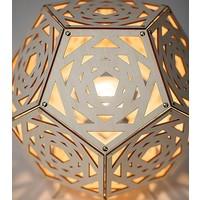 thumb-Tafellamp Dodecahedron no. 34-2