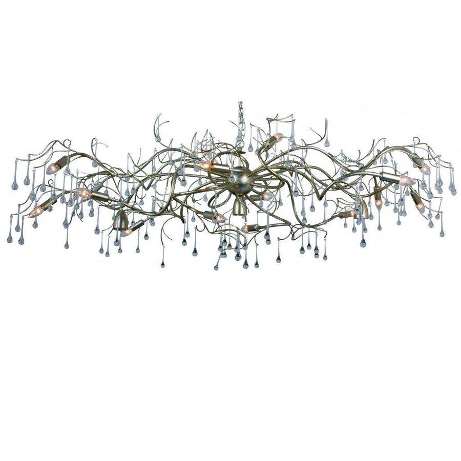 Hanglamp COMO ovaal 170 cm bladzilver-1