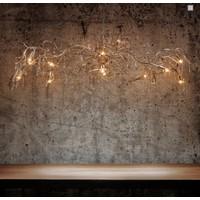 thumb-Hanglamp COMO ovaal 170 cm bladzilver-4