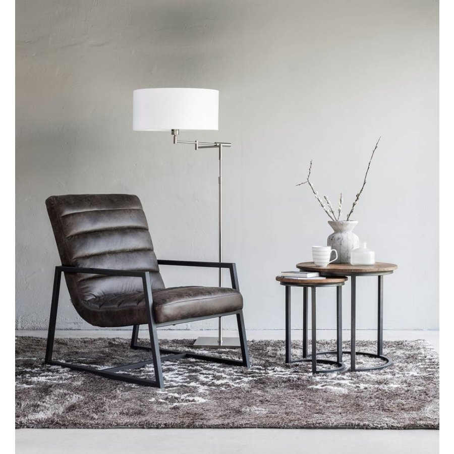 Fauteuil Virginia Stone Grey-4