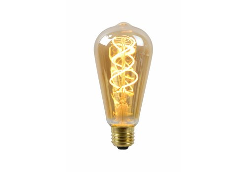 Dimbare LED filament lamp Ø 6,4 cm