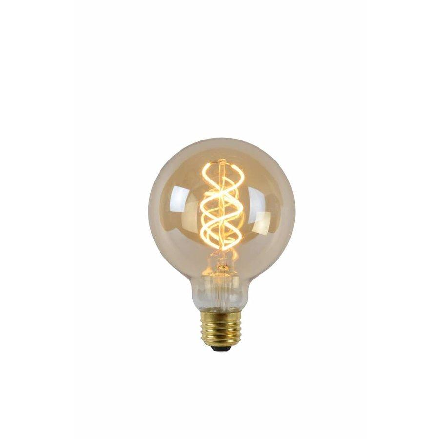 Dimbare LED filament lamp 9,5 cm Amber-1