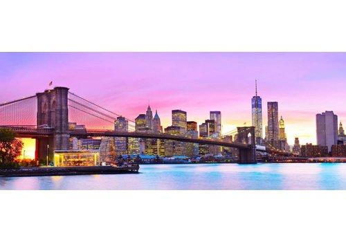 Glasschilderij New York 160 x 60 cm