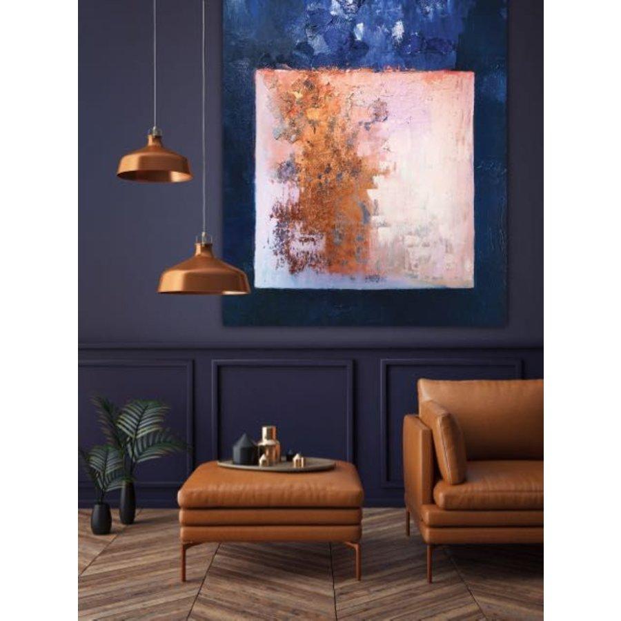 Wandkleed Abstract in E-mineur-4