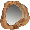 Spiegel Good Looking hout rond