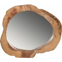 thumb-Spiegel Good Looking hout rond van Must Living-5