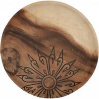 thumb-Trays Mandala set van drie houten schalen in 3xØ18 cm, 4xØ22 cm en 4xØ28 cm-3
