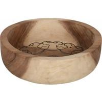 thumb-Bowls Mandela set van twee diepe houten schalen in 7xØ24 cm en 10xØ29 cm-6