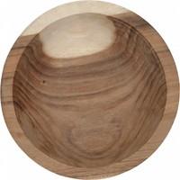 thumb-Bowl Mandala Aztec diepe houten schaal van ø30 x h10  cm-2