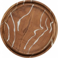 thumb-Must Living houten schalen Cream set van 2-1