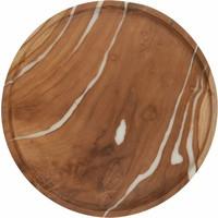 thumb-2-delige set houten schalen Cream in ø30 en ø35 cm-5