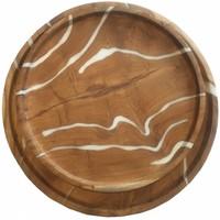 thumb-2-delige set houten schalen Cream in ø30 en ø35 cm-6