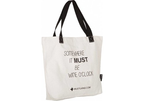 Shopper tas Wine O'clock