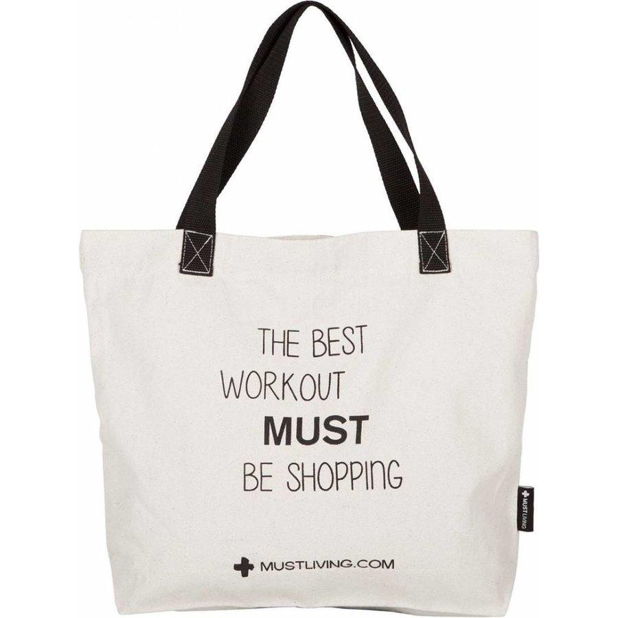 Shopper tas Best Workout van Must Living-2