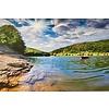 Terhalle Aluminium schilderij River 120x80 cm