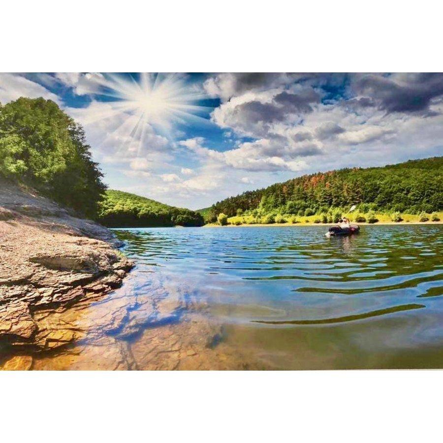 Aluminium schilderij River 120x80 cm-1