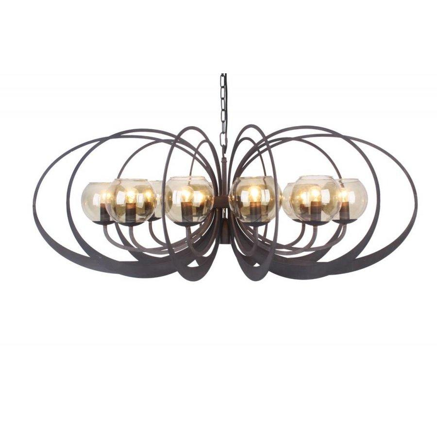 Hanglamp Bronx Metaal in 2 kleuren-1
