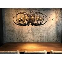 thumb-Hanglamp Bronx Metaal Industrial Dark-2