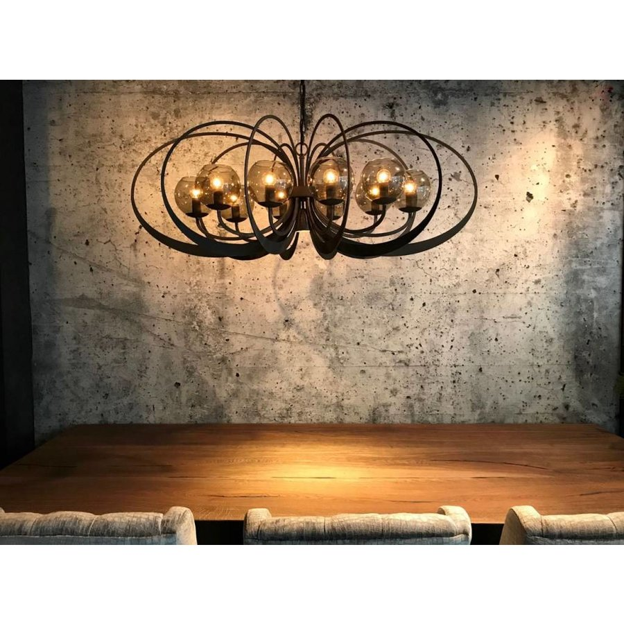 Hanglamp Bronx Metaal 120x55x45-2