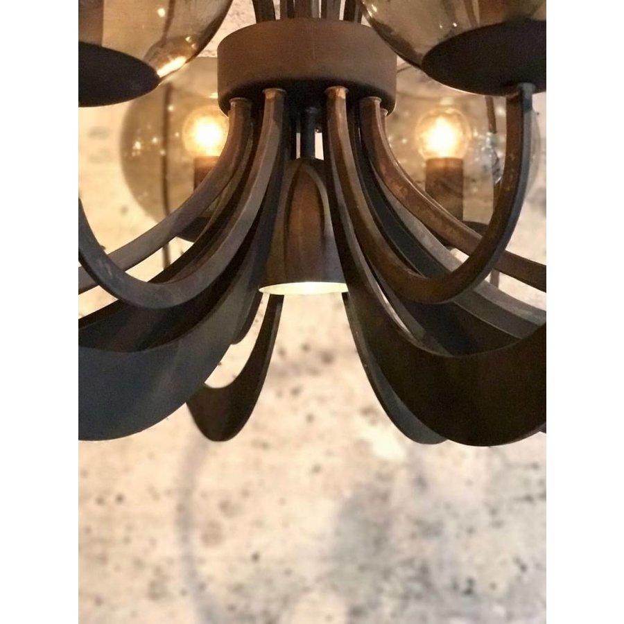 Hanglamp Bronx Metaal Industrial Dark-3