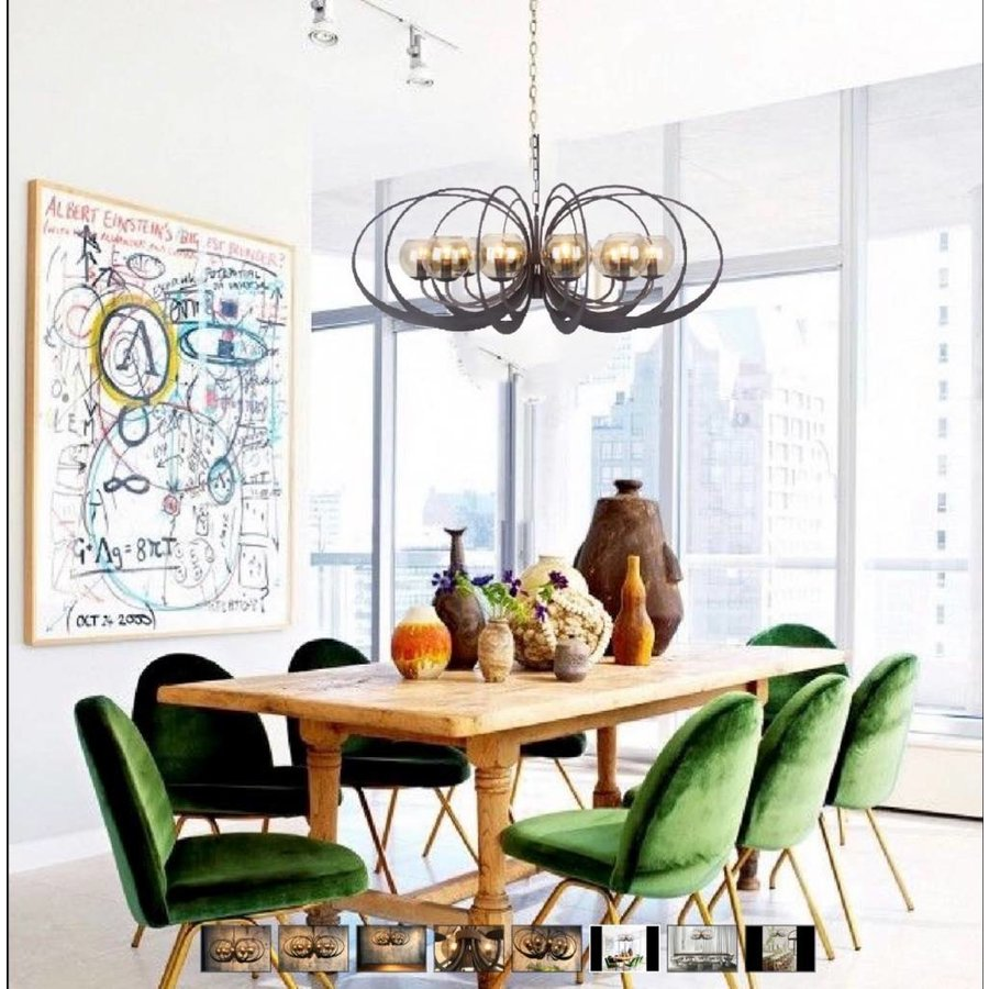 Hanglamp Bronx Metaal in 2 kleuren-7