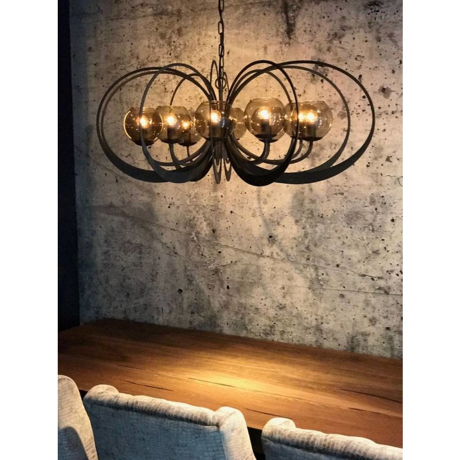 Hanglamp Bronx Metaal Industrial Dark-7