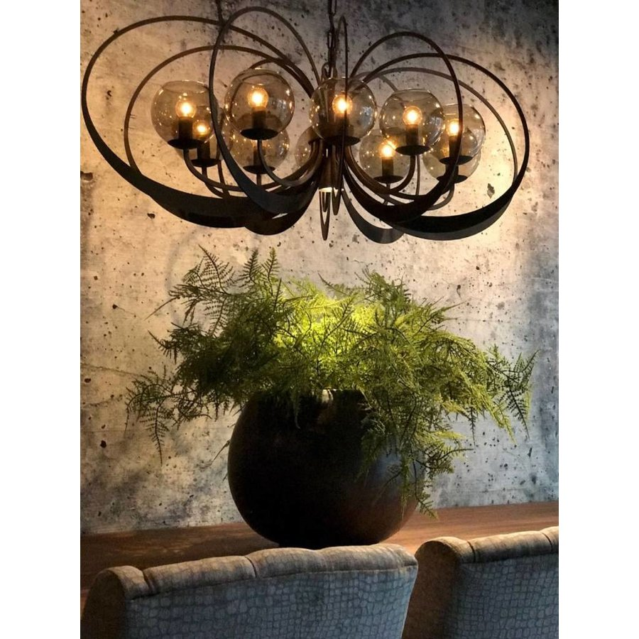 Hanglamp Bronx Metaal 120x55x45-9