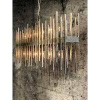 Hanglamp Raffelo metaal  zilver