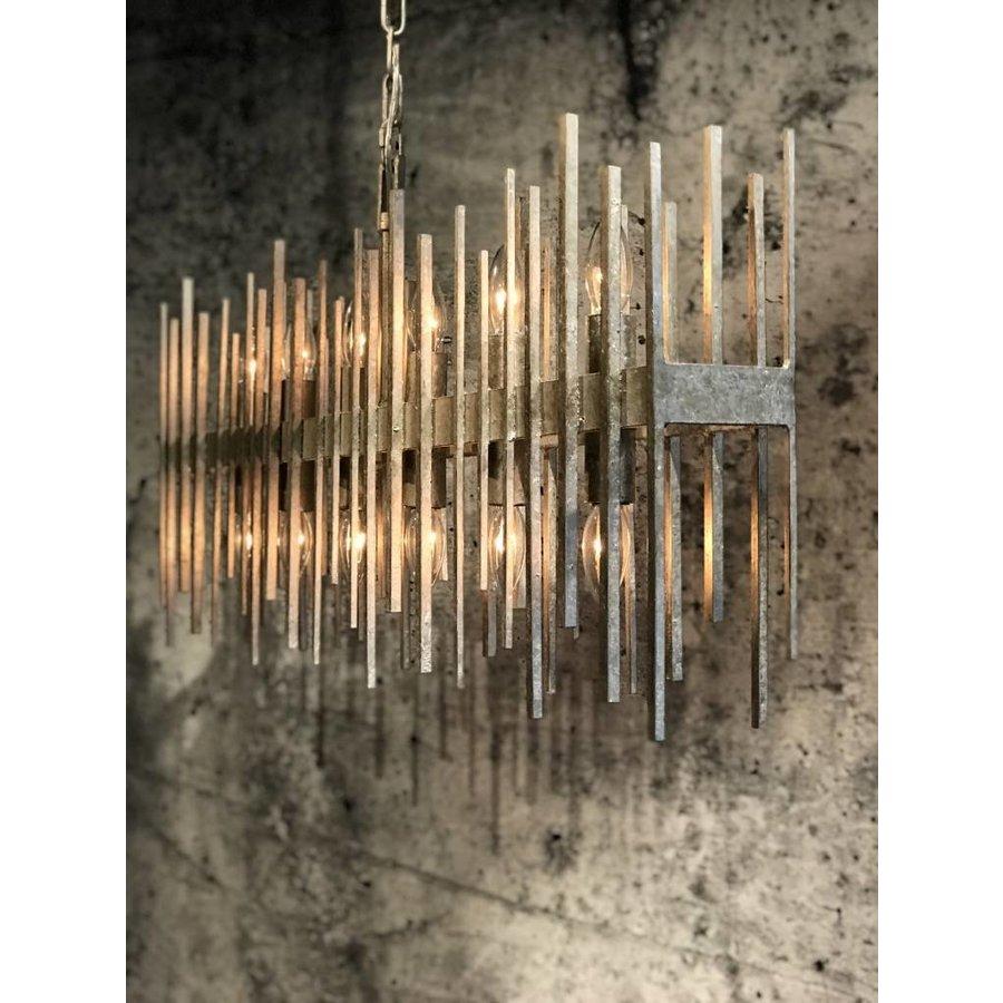 Hanglamp Raffelo metaal  zilver-1