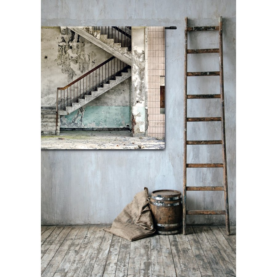 Wandkleed Concrete Stairs-4