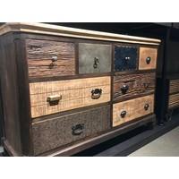 thumb-Dressoir Renew met 8 laden in diverse houtkleuren-3