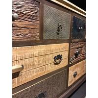thumb-Dressoir Renew met 8 laden in diverse houtkleuren-4