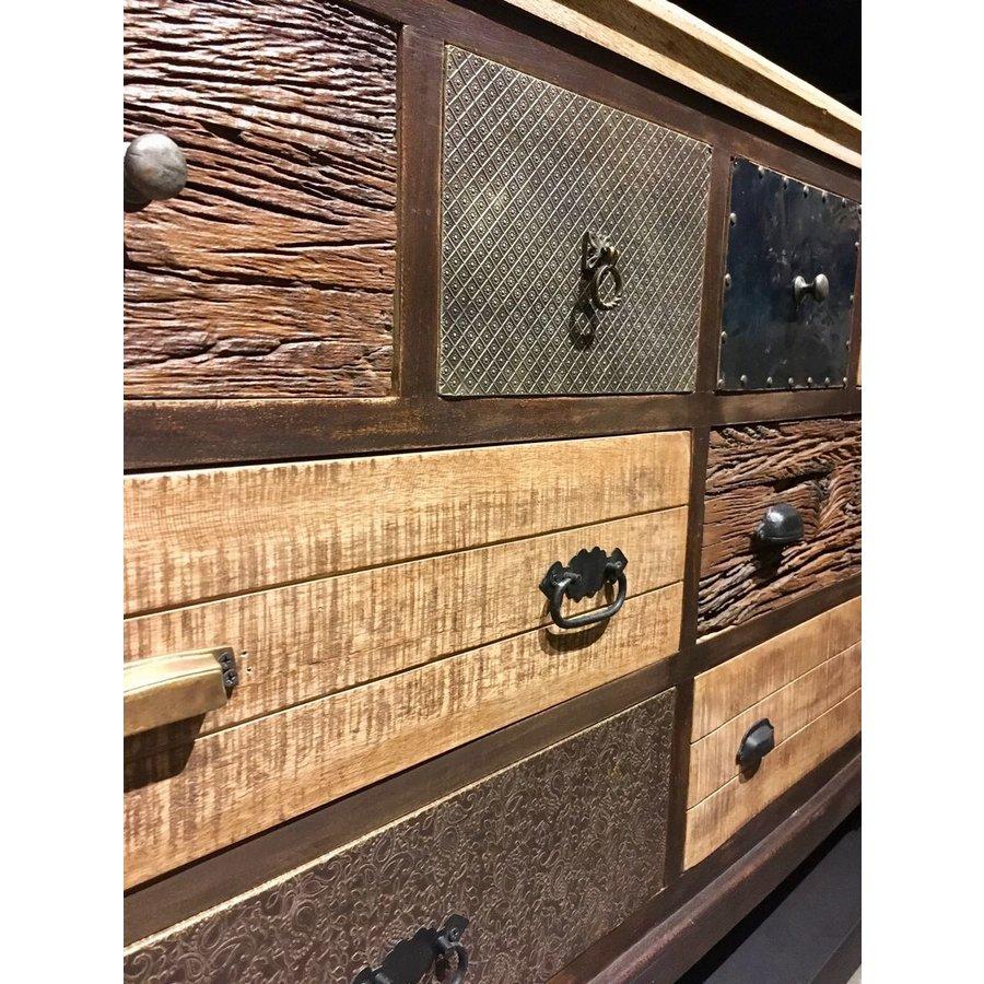 Dressoir Renew met 8 laden in diverse houtkleuren-4