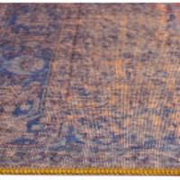 thumb-Tapijt Novum Konya Roest vintage oranje blauw-4