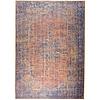 Carpet Rebel Tapijt Novum Konya Roest vintage oranje blauw