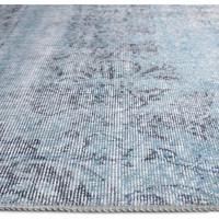thumb-Tapijt Novum Konya vintage ijsblauw-3