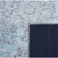 thumb-Tapijt Novum Konya vintage ijsblauw-4