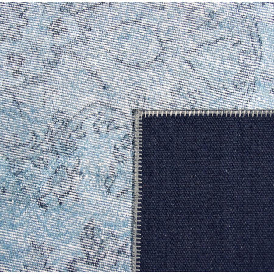 Tapijt Novum Konya vintage ijsblauw-4