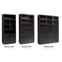 thumb-Buffetkast Oakura 2x2-deuren zwart-4