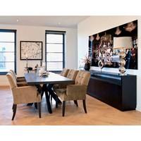thumb-Dressoir Oakura met 4-deuren 85 x 240 x 40 cm-5